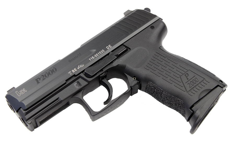 H&K P2000 9mm, DA/SA, V3, Night Sights, 3 Mags