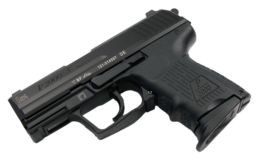 H&K P2000SK 9mm, DA/SA, Night Sights, 3 Mags