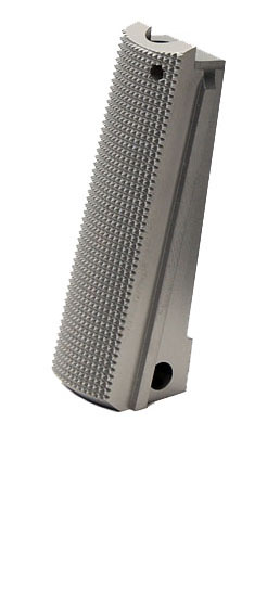 Ed Brown 1911 Checkered Mainspring Housing - Govt - Stainless
