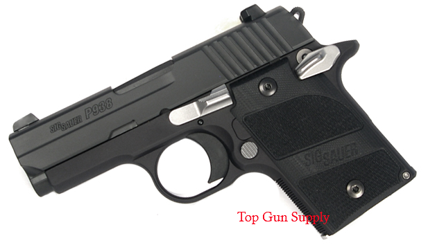 Sig Sauer P938 9mm, Night Sights, Nightmare