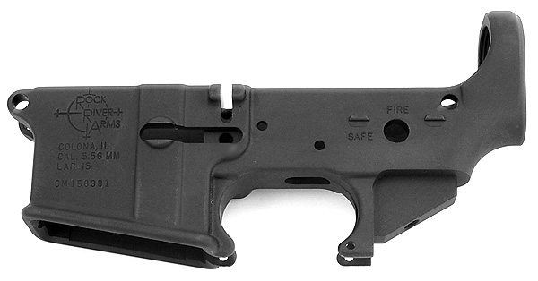 Rock River Arms AR-15 5.56mm Lower Receiver - STRIPPED