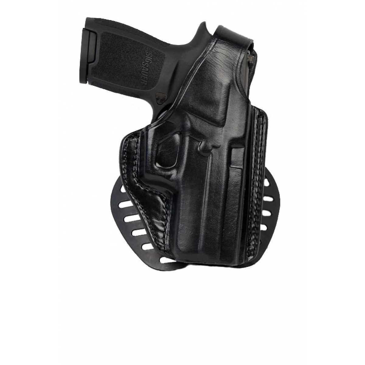 Gould & Goodrich Paddle Holster, Right Hand, BLACK - SIG 220,226,226R