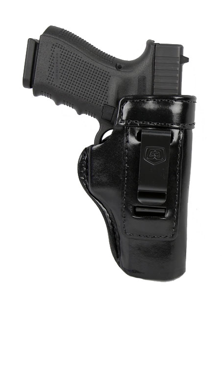 Gould & Goodrich Inside Trouser Holster 890, Right Hand, BLACK - GLOCK 26,27,33