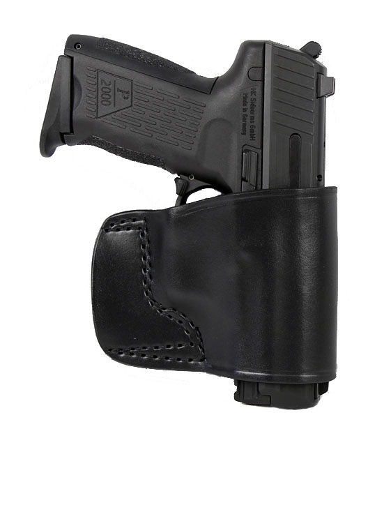 Gould & Goodrich Belt Slide Holster 891, Right Hand, BLACK - GLOCK FULL SIZE/COMPACT/SUB-COMPACT