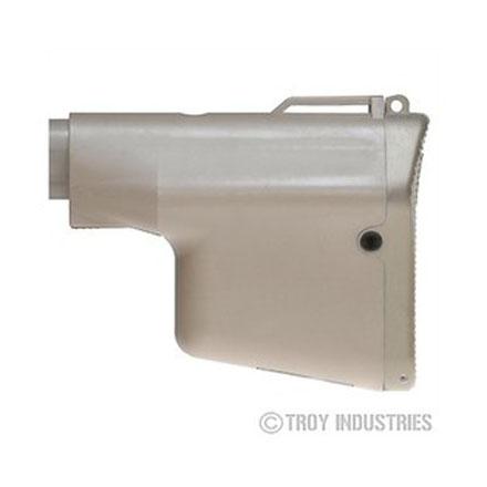 Troy Industries Lightweight Battle Ax CQB Stock - FDE
