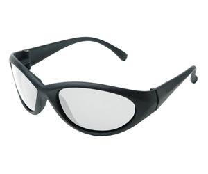 Radians Cobalt Shooting Glasses BLK/CLEAR