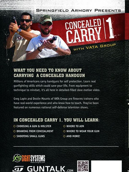 GunTalk - Concealed Carry 1 - DVD