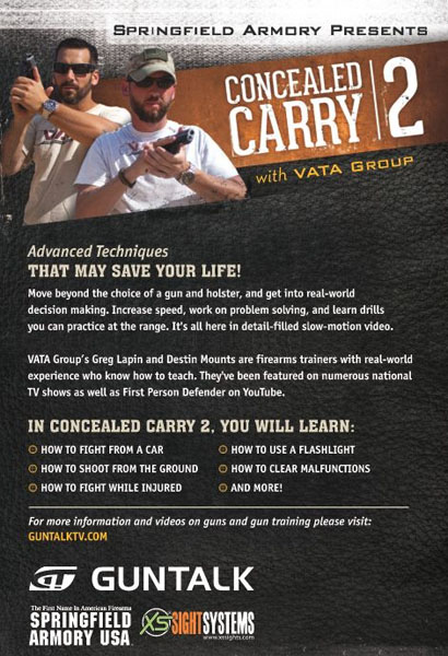 GunTalk - Concealed Carry 2 - DVD