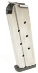 Check-Mate 10mm, 9RD, Stainless Steel - Full Size 1911 Magazine - Removable Base Pad