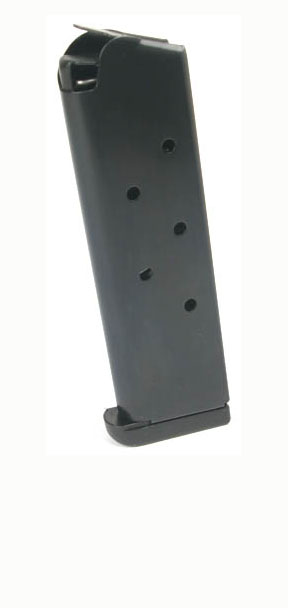 Check-Mate .45ACP, 7RD, Blue, CMF, Removable Base - Full Size 1911 Magazine