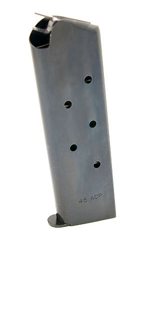 Check-Mate .45ACP, 7RD, Blue, Hybrid - Full Size 1911 Magazine