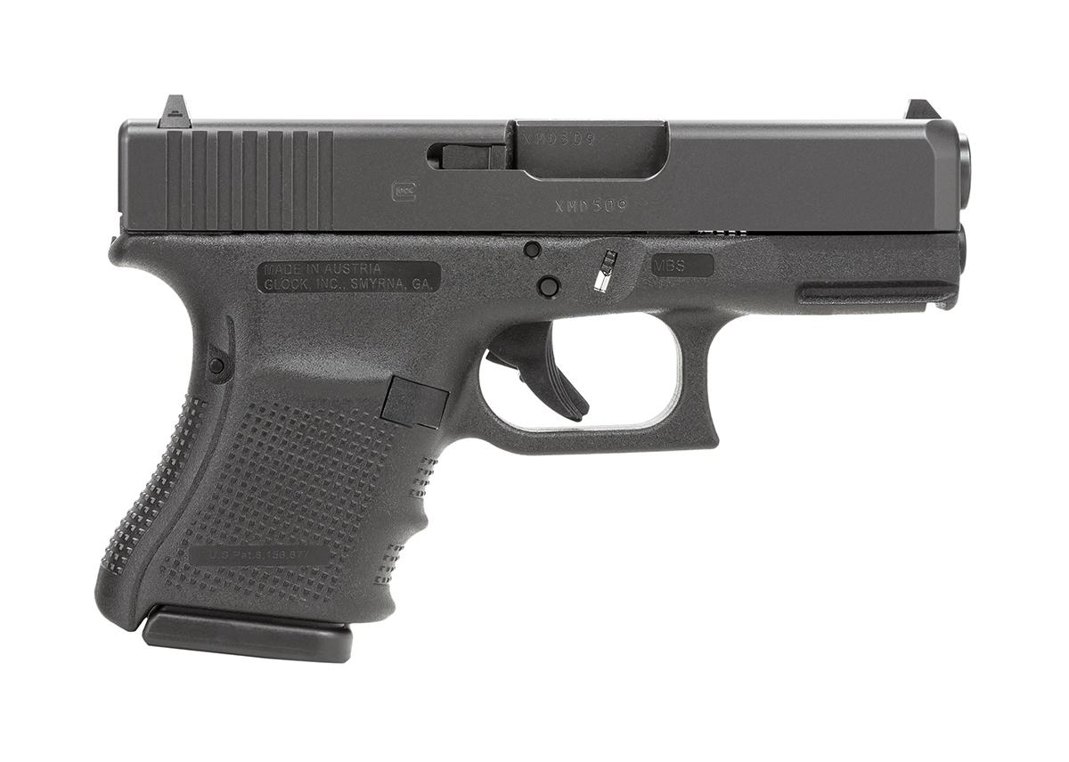 Glock 29 GEN 4 10mm, Standard Sights - BLACK