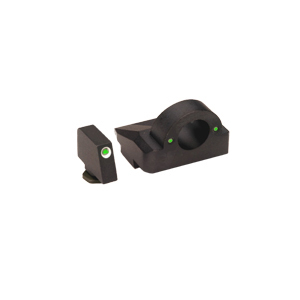 Ameriglo Tritium Night Sight Set - GHOST RING - Glock 10mm, .45 - Green/Green