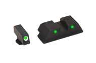 Ameriglo Tritium Night Sight Set - OPERATOR - Glock 10mm, .45 - Green/Green