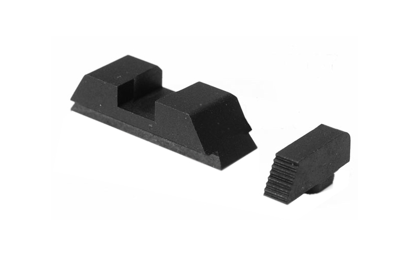 Ameriglo Suppressor Sight Set - Glock - Black/Black