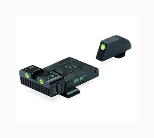 meprolight tru dot adjustable night sights glock top gun supply