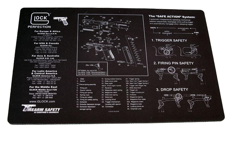 Glock Armorer's Bench Mat