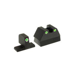 Ameriglo Tritium Night Sight Set - USP COMPACT - Green/Green