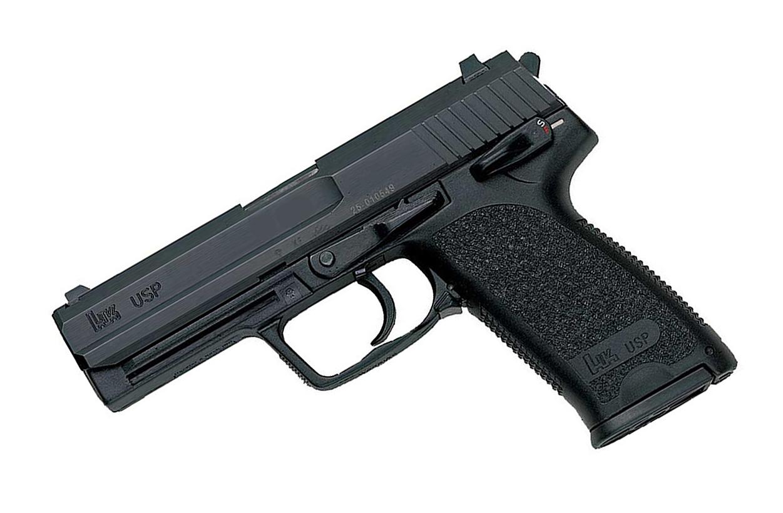 H&K USP .40, DA/SA, Standard Sights