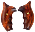 Ahrends S&W, Tactical J Frame, Round Butt, Cocobolo - COMBAT
