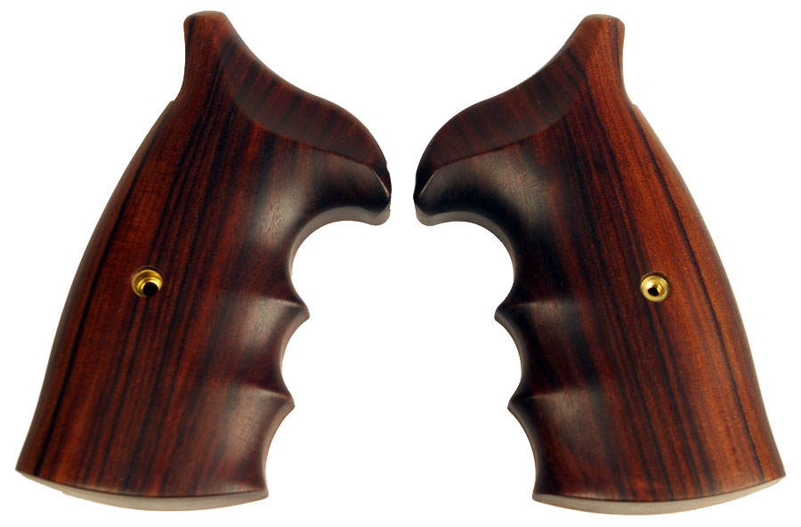 Ahrends S&W, N Frame, RD to SQ Butt, Moradillo - FINGER GROOVE - OILED