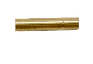 J. Dewey Brass Brush Adapter - 12/28 to 8/32