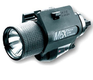 Insight Technology M6X Tactical Light with Laser - Glock and Universal Rails