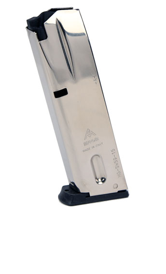Mec-Gar Smith & Wesson M910/M915/5900 Series 9mm 15RD Magazine - NICKEL