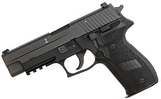 Sig Sauer P226 MK25 SEALS, 9mm, Nitron, Night Sights, DA/SA