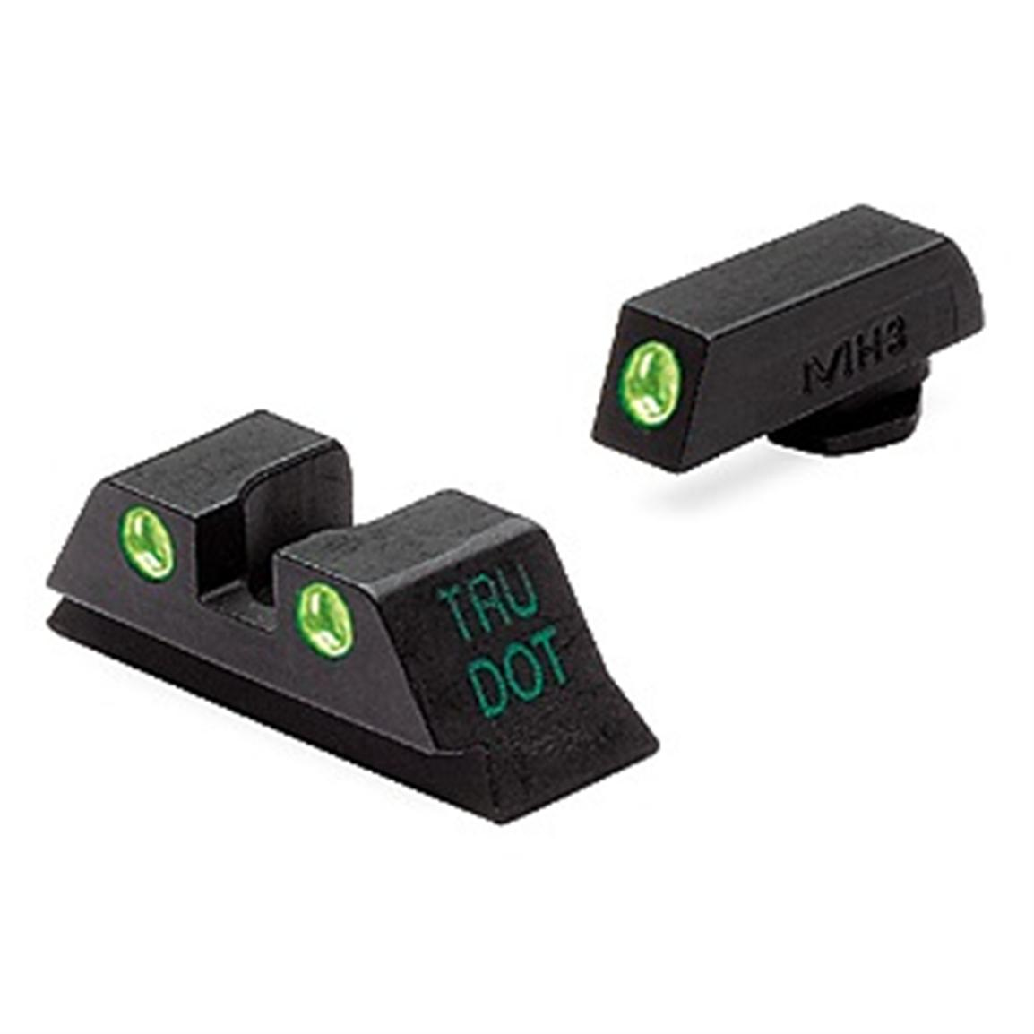 Meprolight Tru-Dot Tritium Night Sights - GLOCK 9mm/.40/.45GAP