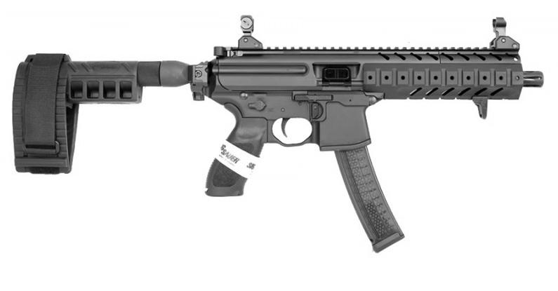 Sig Sauer MPX Pistol W/Stabilizing Brace, 9mm