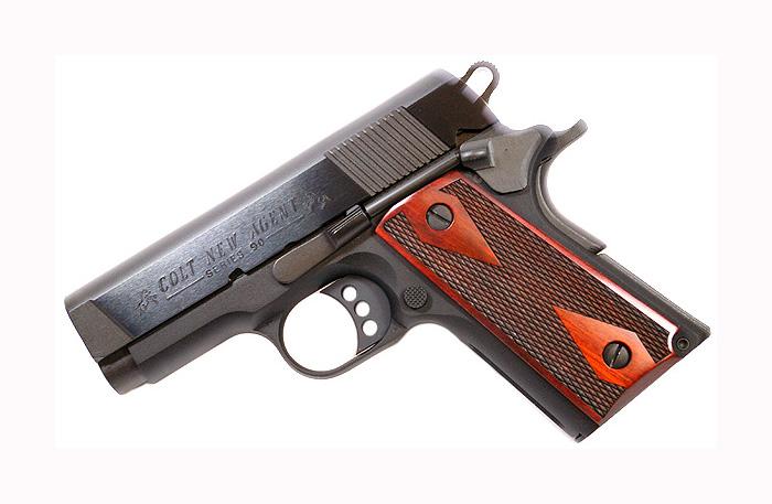 Colt New Agent , .45ACP, BLUE