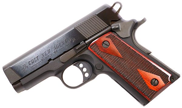 Colt New Agent , 9mm, BLUE