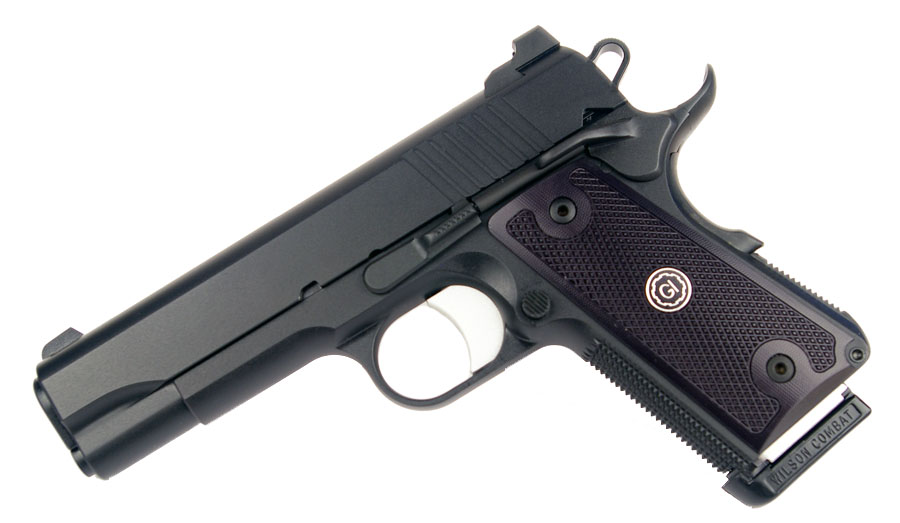 Guncrafter Industries No Name Officers Model .45ACP, Ambi Safety, Black