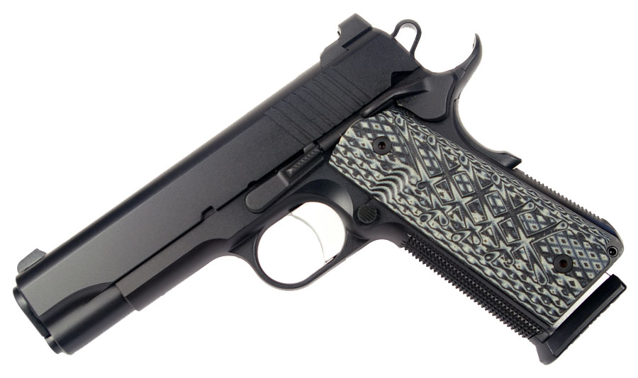 Guncrafter Industries No Name Commander Model, .45ACP, Ambi Safety, Black