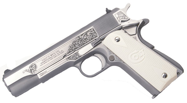 Colt Govt Model, .45ACP, SERIES 70, Stainless - GLAHN - LIMITED EDITION