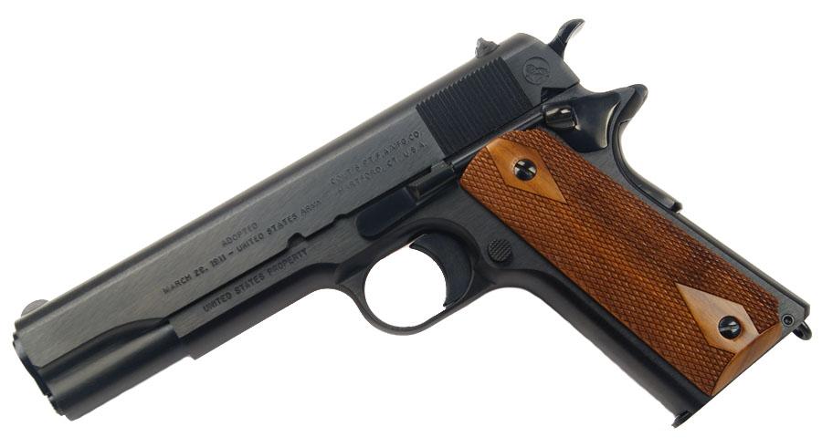Colt Government Model, WW1 Reproduction, .45ACP, Blue - Anniversary Edition