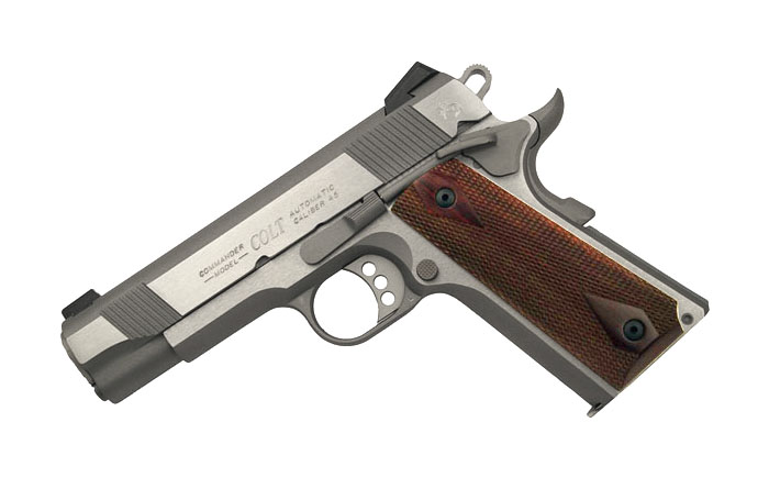 Colt Combat Commander, Stainless Steel .45ACP, XSE