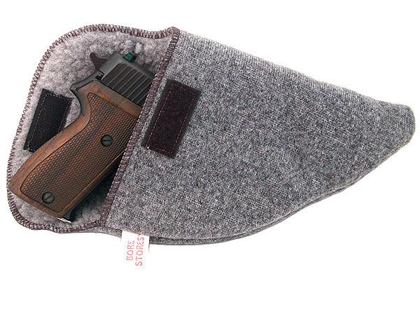 Bore-Store Gun Storage Case - SMALL AUTO and REVOLVER 7