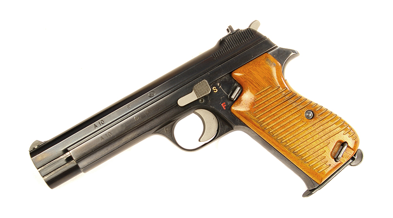 Sig P210 9mm - Swiss Police - USED WOOD GRIPS