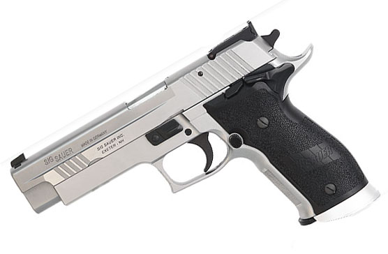 Sig Sauer P226 X-Five COMPETITION, .40SW, Adjustable Target Sights, SAO