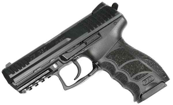 H&K P30 .40S&W, DA/SA, fixed sights, V3