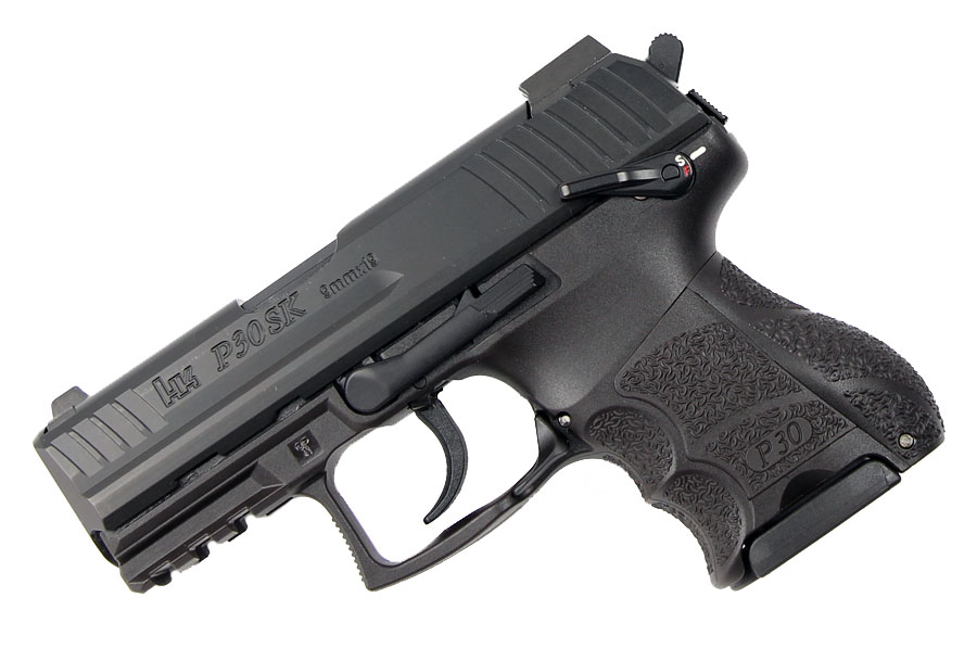 H&K P30SK-S LE 9mm, DA/SA, Night sights, V3, 3 Mags