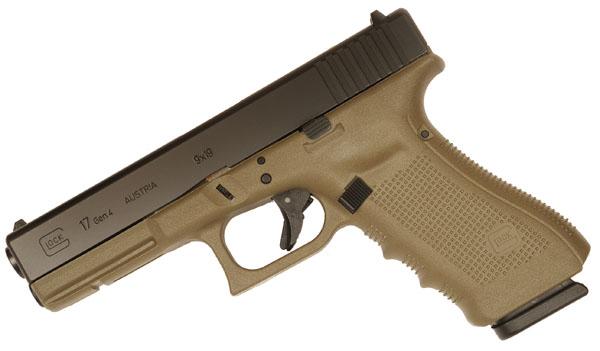 Glock 17 GEN 4 9mm - OD Green