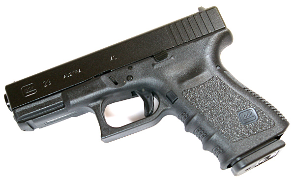 Glock 23 .40S&W - BLACK-10 rd mags