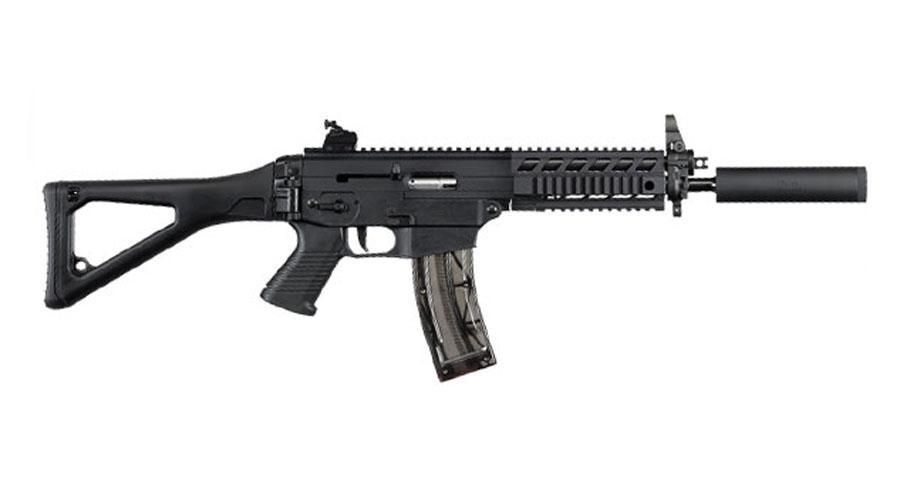Sig Sauer 522 .22LR Rifle SWAT COMMANDO - Quad Rail