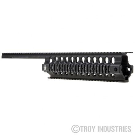 Troy Industries SIG 556 Battle Rail- Rifle Length - BLK
