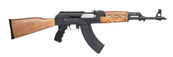 AK47 PAP Hi-Cap 7.62x39, Wood Stock, Picatinny Rail
