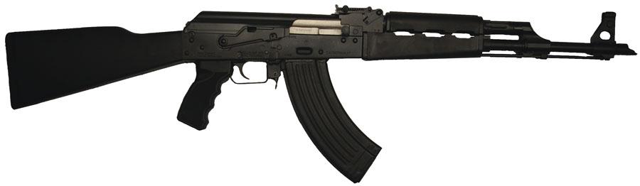 AK47 N-PAP 7.62x39, Black