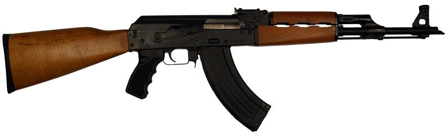 AK47 PAP Hi-Cap 7.62x39, Wood Stock